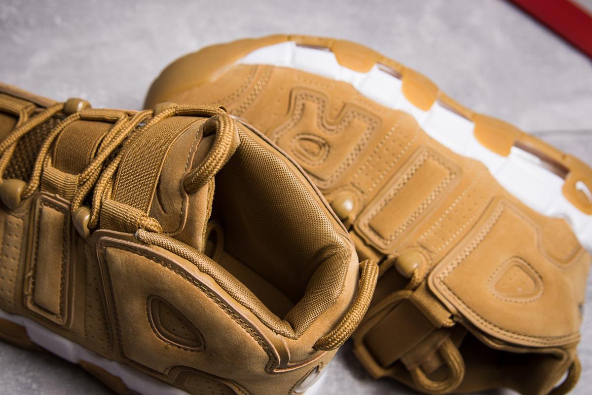 Кроссовки мужские Nike More Uptempo, песочные (13911) размеры в наличи 6