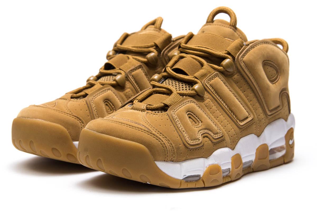 Кроссовки мужские Nike More Uptempo, песочные (13911) размеры в наличи 7
