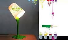 """Настольная лампа """"Краска"""" Fashion lamp"""