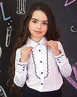 Школьные блузки нарядные р.116-152, фото 1