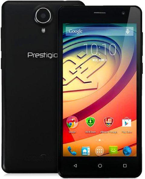 Смартфон Prestigio 3528 1/8Gb Black Камера 8 МП