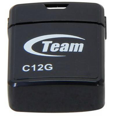 Флеш накопитель Team 16GB C12G Black USB 2.0 (TC12G16GB01) `
