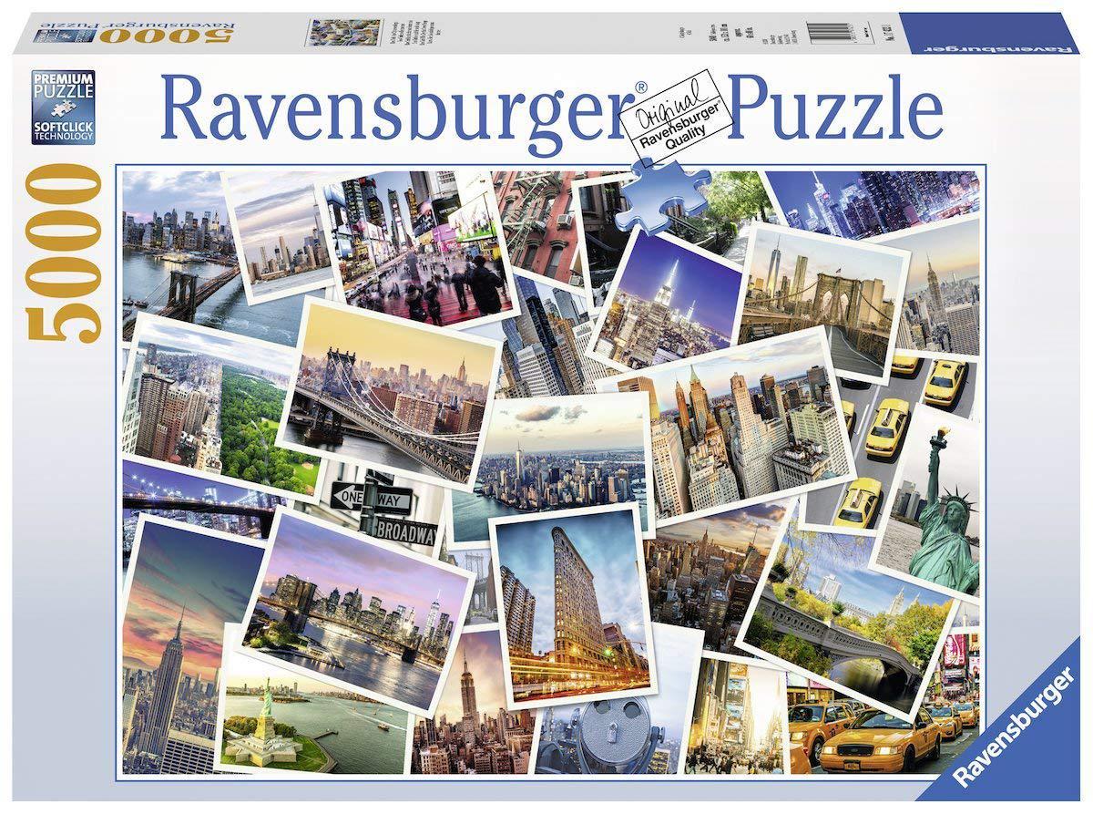 """Пазл """"Нью-Йорк никогда не спит"""" 5000 шт. Ravensburger (RSV-174331)"""