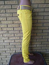 Брюки женские летние коттоновые стрейчевые дизайнерские ELIZABETTA FRANCHI, фото 2