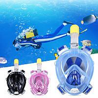 Маска для снорклинга подводного плавания Easybreath, маска на все лицо, TRIBORD/SUBEA, подводная маска
