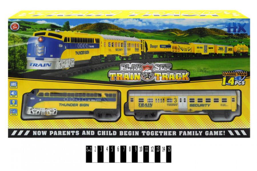 Детская железная дорога НХ 2012-11, свет, муз.