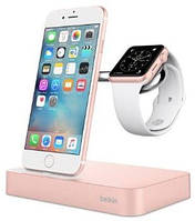 Belkin Charge Dock iWatch + iPhone, rose-gold
