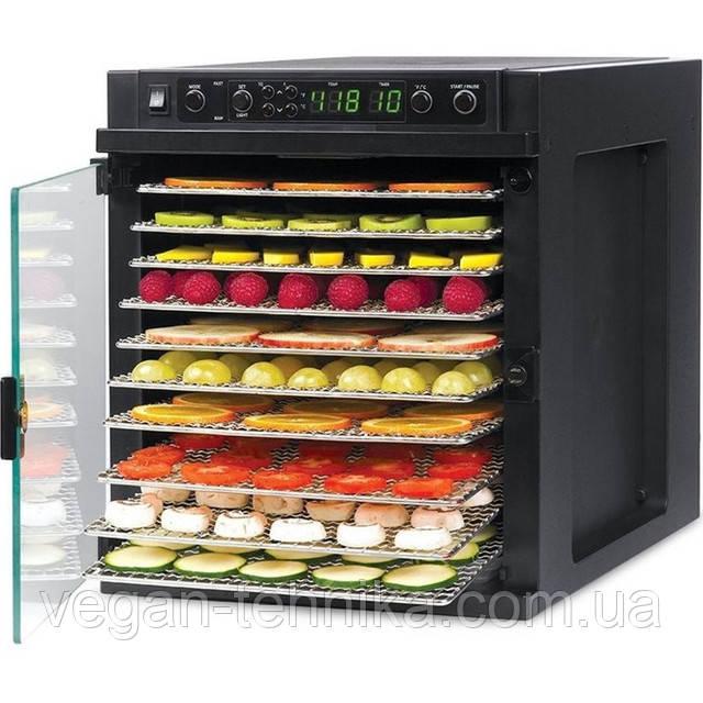 Дегидратор (сушилка для фруктов) Tribest Sedona Express SD-6780 (стальные лотки)
