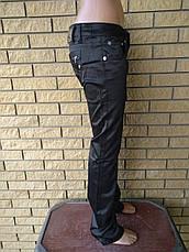 Брюки женские коттоновые стрейчевые POP ELITE, Турция, фото 2