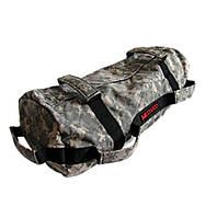 Сэндбэг -размер M- до 25 кг спортивный мешок с песком для кроссфита и фитнеса цвет цифровой камуфляж, фото 1