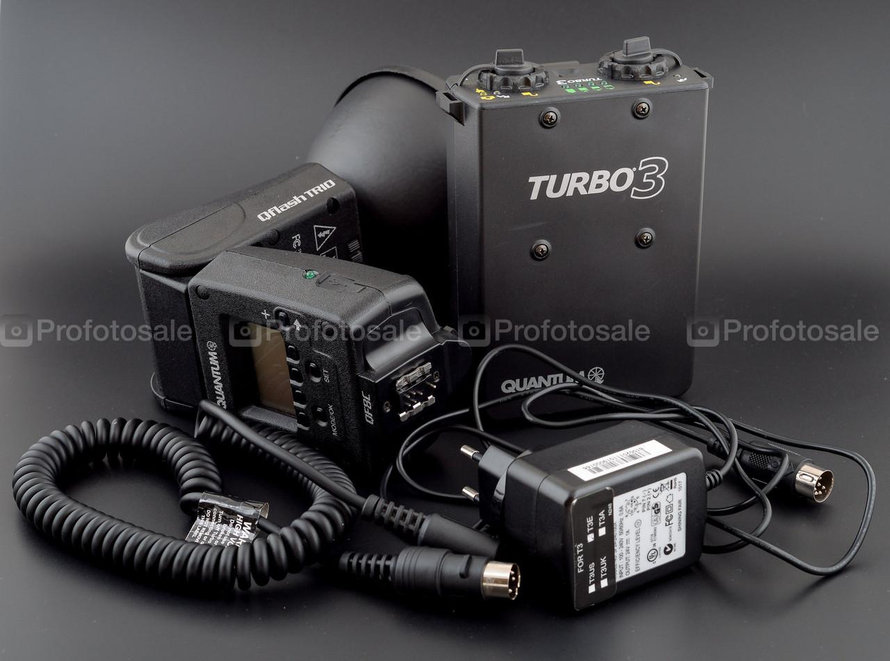 Вспышка для Canon Quantum Qflash TRIO QF8C + Quantum turbo 3