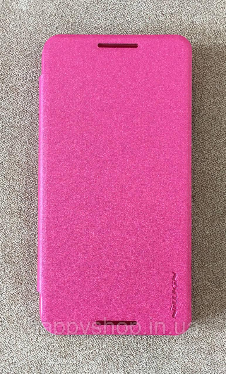Чехол-книжка Nillkin для HTC Desire 610 (Розовый)