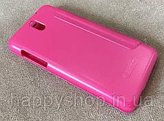 Чехол-книжка Nillkin для HTC Desire 610 (Розовый), фото 3