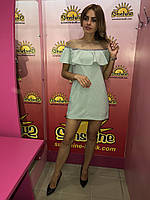 Женское трикотажное платье  Poliit 8520, фото 1