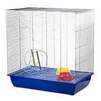 Клетка для белки InterZoo Squirrel 80 Zinc G150 (780*480*800 мм)