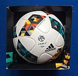 Мяч футбольный ADIDAS PRO LIGUE 1 OMB AZ3544 (размер 5), фото 2