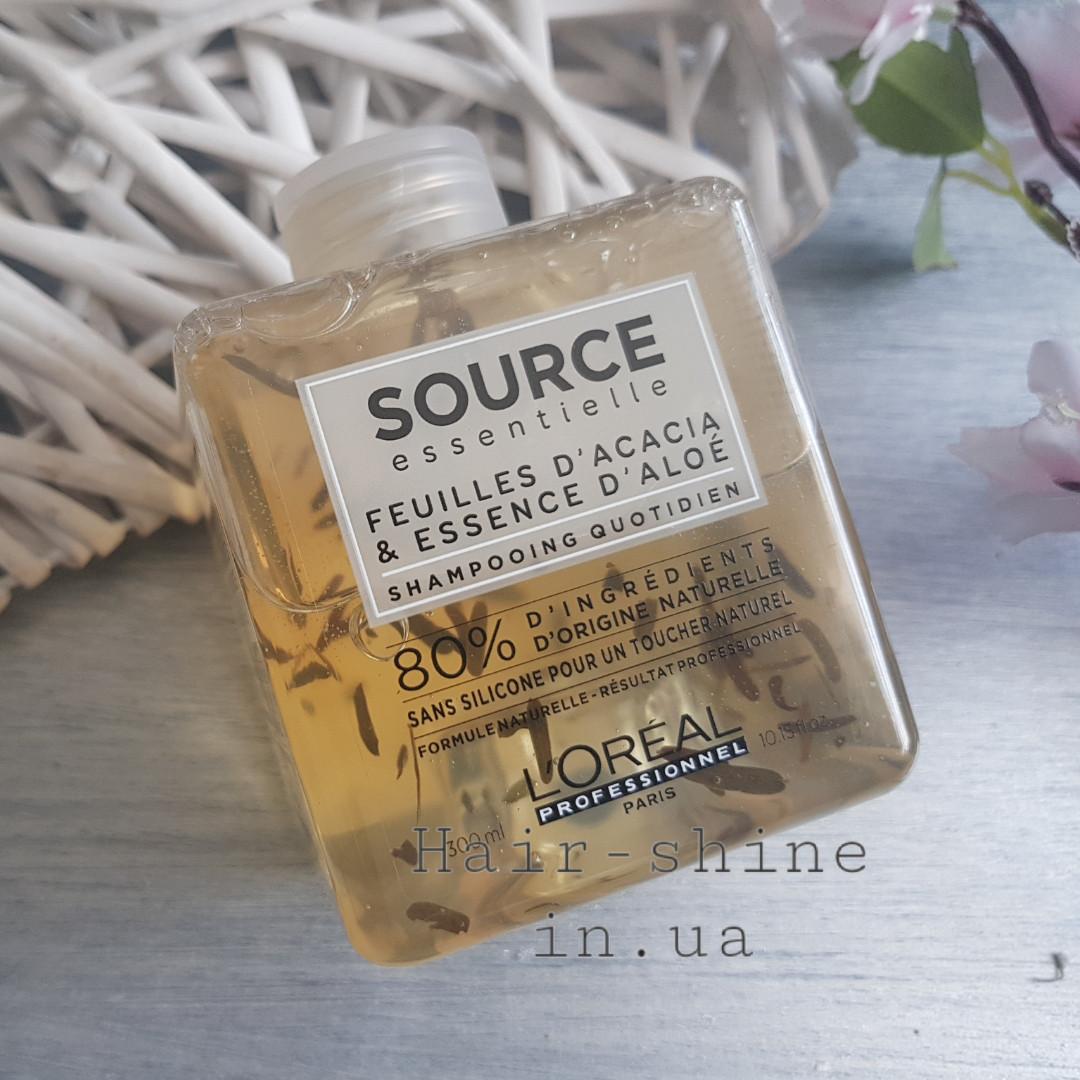 Ежедневный шампунь для нормальных и тонких волос L Oréal Professionnel  Source Essentiel daily shampoo 300 50d58f7f209