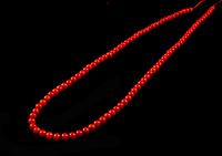 Заготовка из красного  коралла ,4мм, фото 1