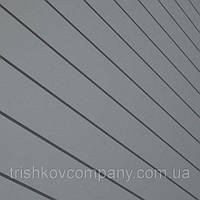 Сверхпрочные фасадные панели Liberty толщиной 0,7 мм 9006 металлик Корея