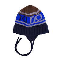 Шапка зимняя NANO на мальчика 2-12 л. (Р.: 2/3Х, 4/6Х, 7/12) ТМ Nanö 251 TC F16, фото 1