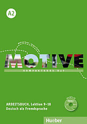 Motive A2 Arbeitsbuch Lektion 9-18 mit MP3-Audio-CD