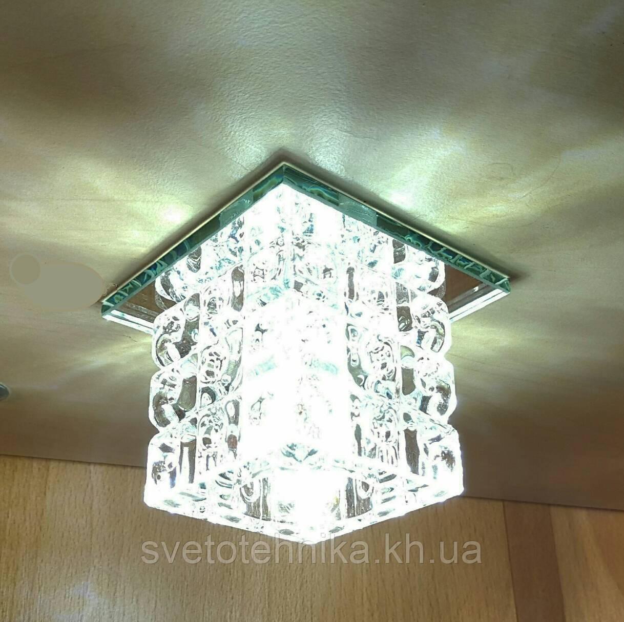 Светильник точечный декоративный с кристаллом Z-Light ZA073 хром