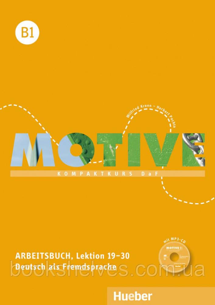 Motive B1 Arbeitsbuch Lektion 19–30 mit MP3-Audio-CD