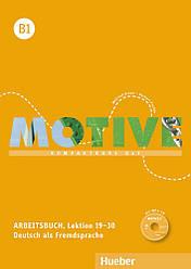 Motive B1 Arbeitsbuch Lektion 19-30 mit MP3-Audio-CD