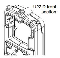 Передняя секция котла Viadrus U22 D