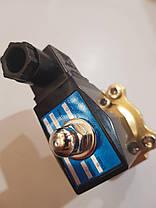 """Клапан электромагнитный 3/4"""" DN20 220В (соленоид) нормально закрытый, фото 2"""