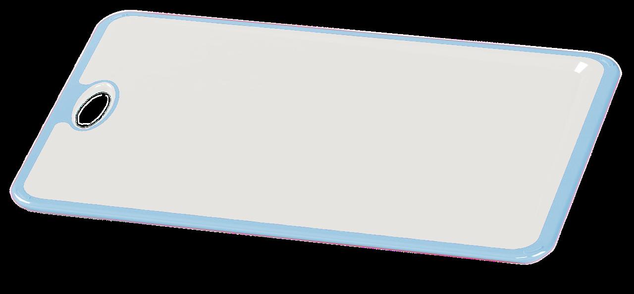 Дошка обробна Irak Plastik Пряма біло-блакитна