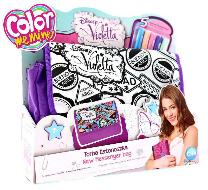 Сумка-раскраска Color Me Mine Violetta Simba
