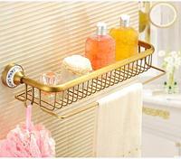 Полочка с крючками в ванную комнату 6-048, фото 1
