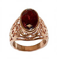 """Булатное кольцо """"Маркиза"""". Камни: фианит. Цвет:позолота с кр.от. Есть с 17 по 20 р. В упаковке 12 колец."""