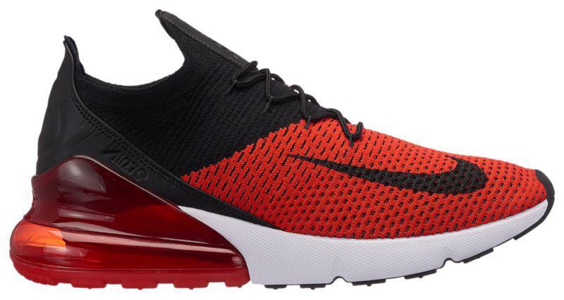 1af861ce862a Кроссовки Кеды (Оригинал) Nike Air Max 270 Flyknit Chili Red Black ...