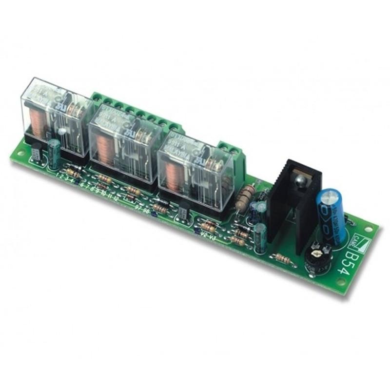 Плата аварийного питания Came V0670 для подключения 2-х аккумуляторов