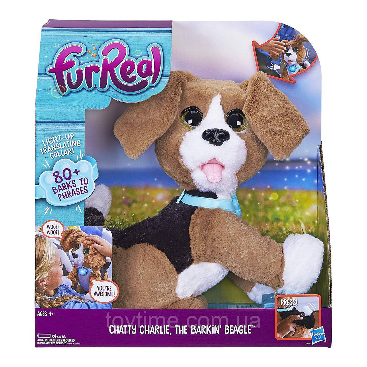 РУССКОЯЗЫЧНЫЙ Говорящий щенок Чарли FurReal Friends / FurReal Chatty Charlie the Barkin' Beagle