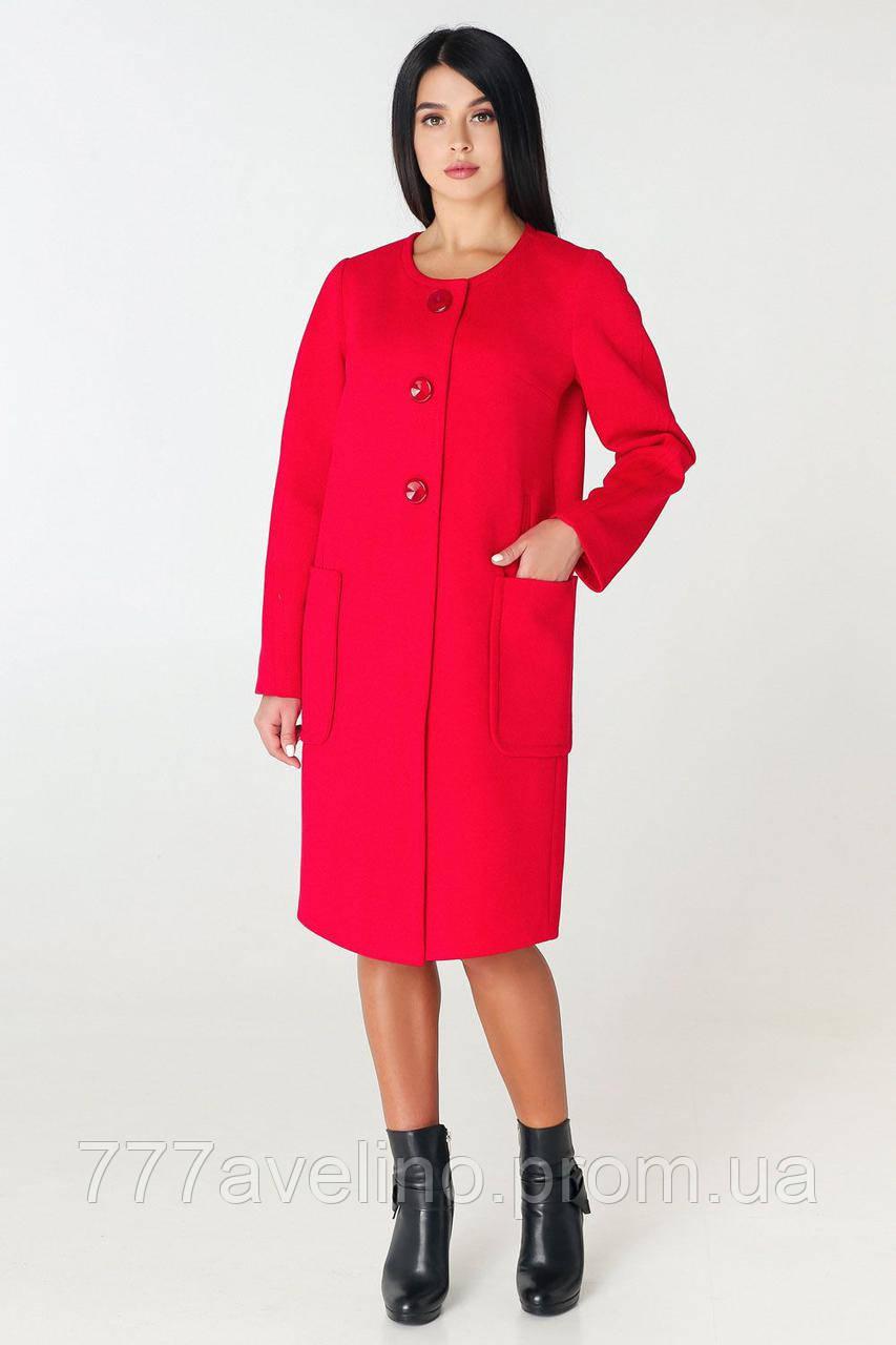 Женское пальто демисезонное стильное