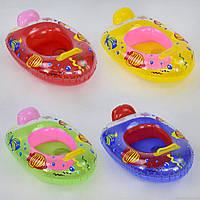 Плотик надувной детский с ножками
