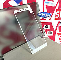 Xiaomi Redmi 5защитное скло на телефон протиударне 3D White біле