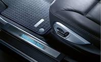 Накладки передние на пороги с подсветкой Acura MDX 08E12TZ5210
