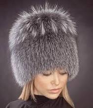 Женские шапки из натурального меха