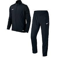 Костюм спортивный мужской Nike ACADEMY 16 808758-010 (черный, полиэстер, для тренировок, с логотипом найк)