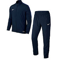 Костюм спортивный мужской Nike ACADEMY 16 808758-451 (синий, полиэстер, для тренировок, с логотипом найк)