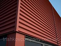 """Фасадные панели """"Оригинал"""" РЕ 9006 металлик глянец, 0.9 мм, Корея UnionSteel"""