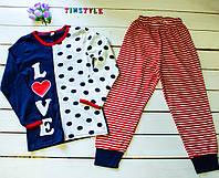 Пижамка для девочки на рост 104-116 см, фото 1
