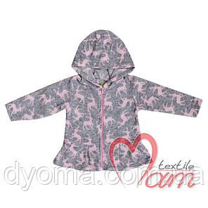 Детская флисовая куртка для девочек, фото 2
