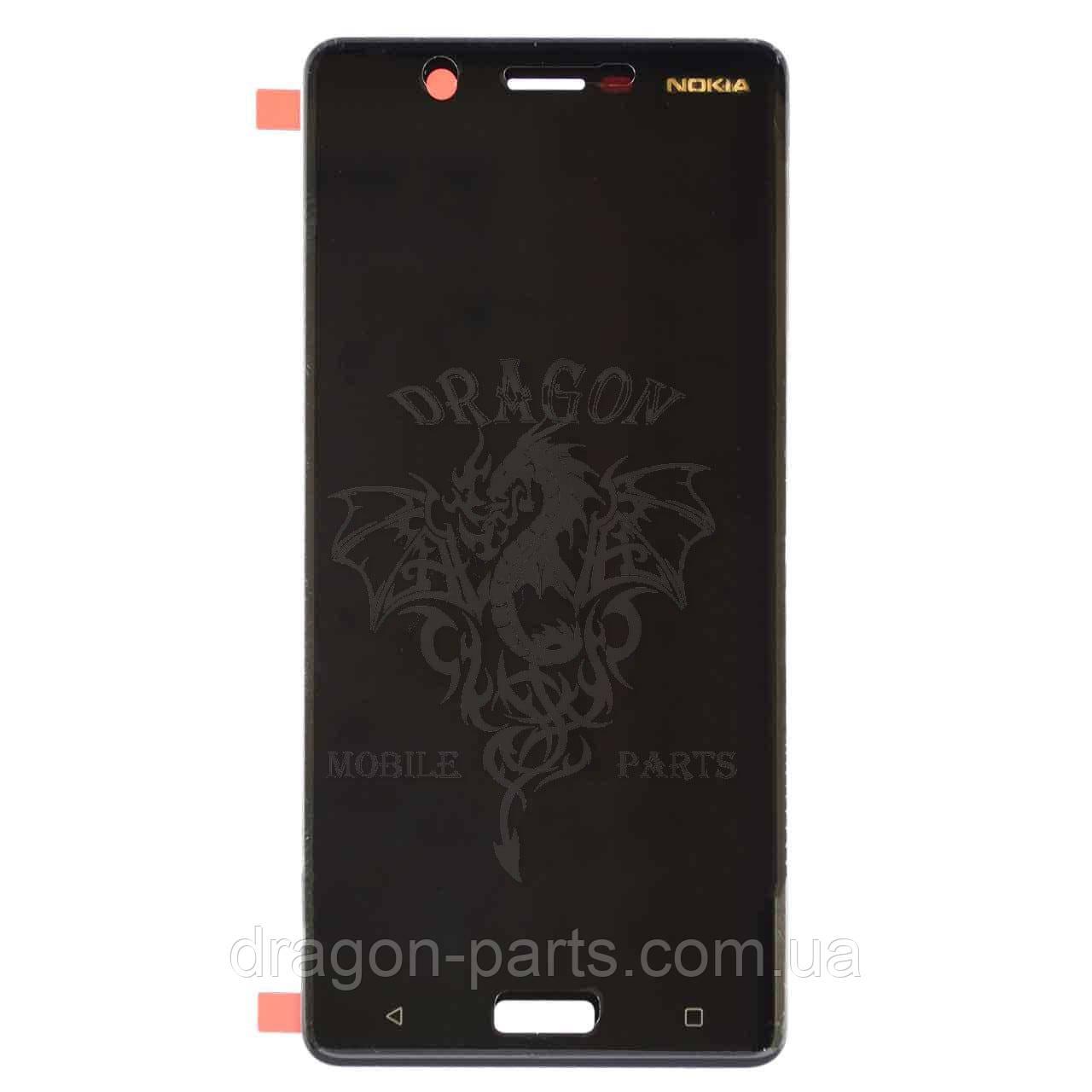 Дисплей Nokia 5 Dual Sim с сенсором TA-1053 Черный Black, оригинал