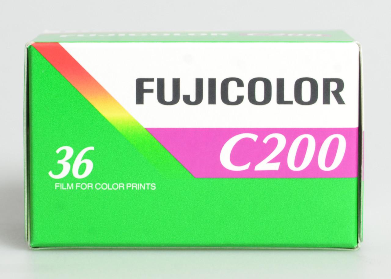 Фотоплёнка цветная Fujifilm Fujicolor 200/36 / в магазине