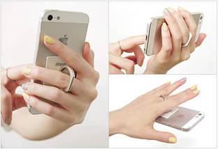 """Кольцо-держатель для телефона """"Сердце"""" глиттер, фото 3"""